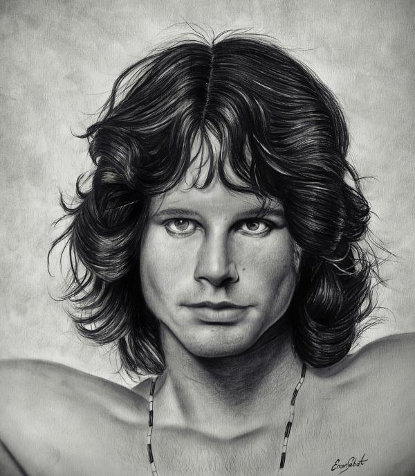 Jim Morrison by ercansebat